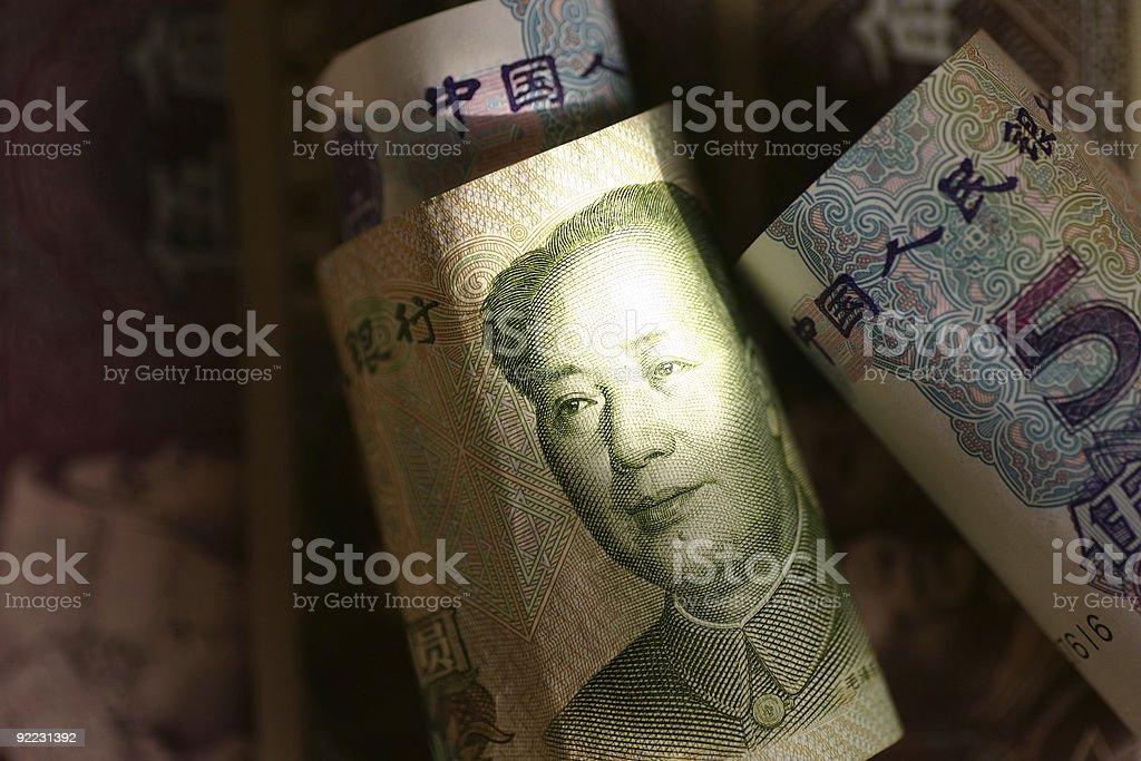 Yuan royalty-free stock photo
