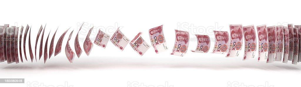 Yuan Transfer stock photo