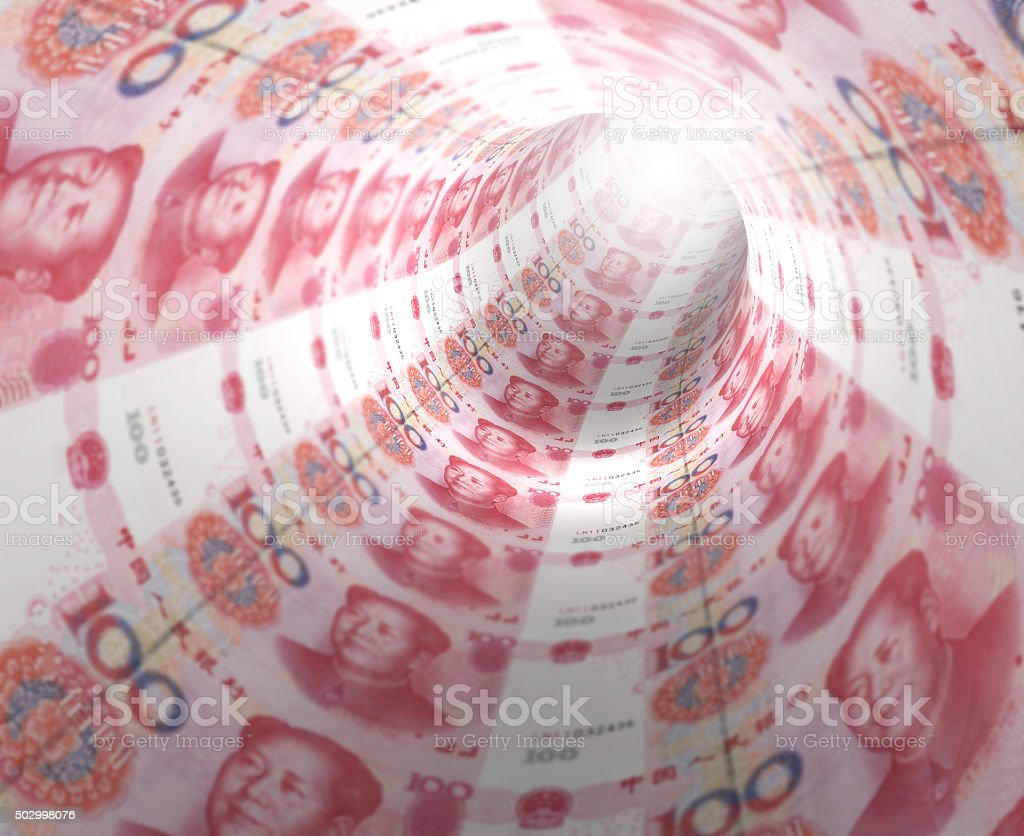 Yuan Tunnel stock photo