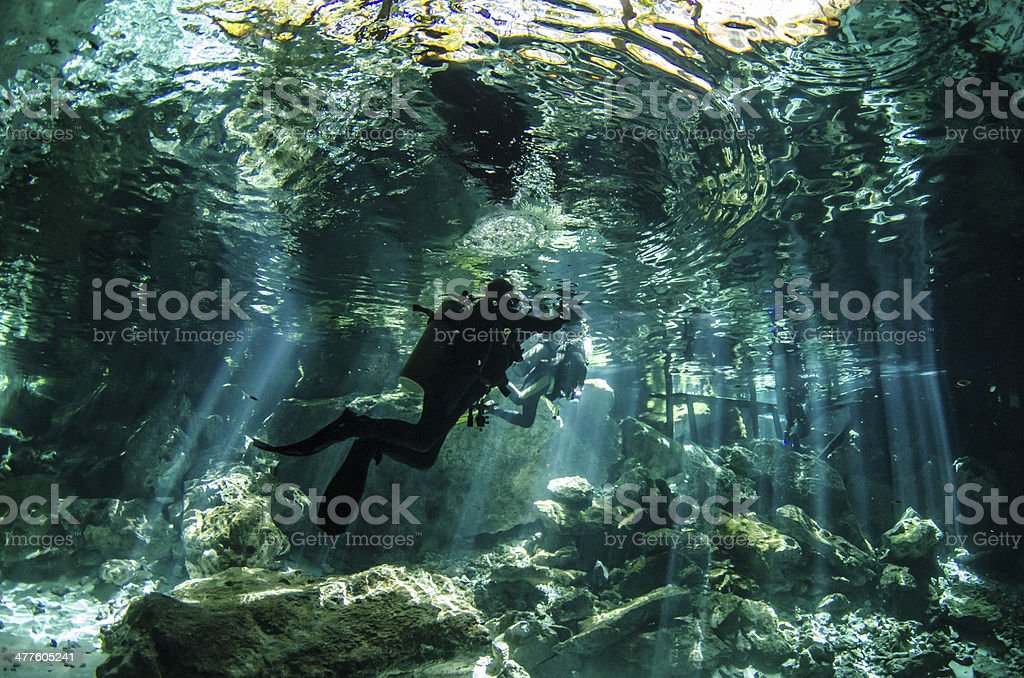 Yucatan Cenotes stock photo