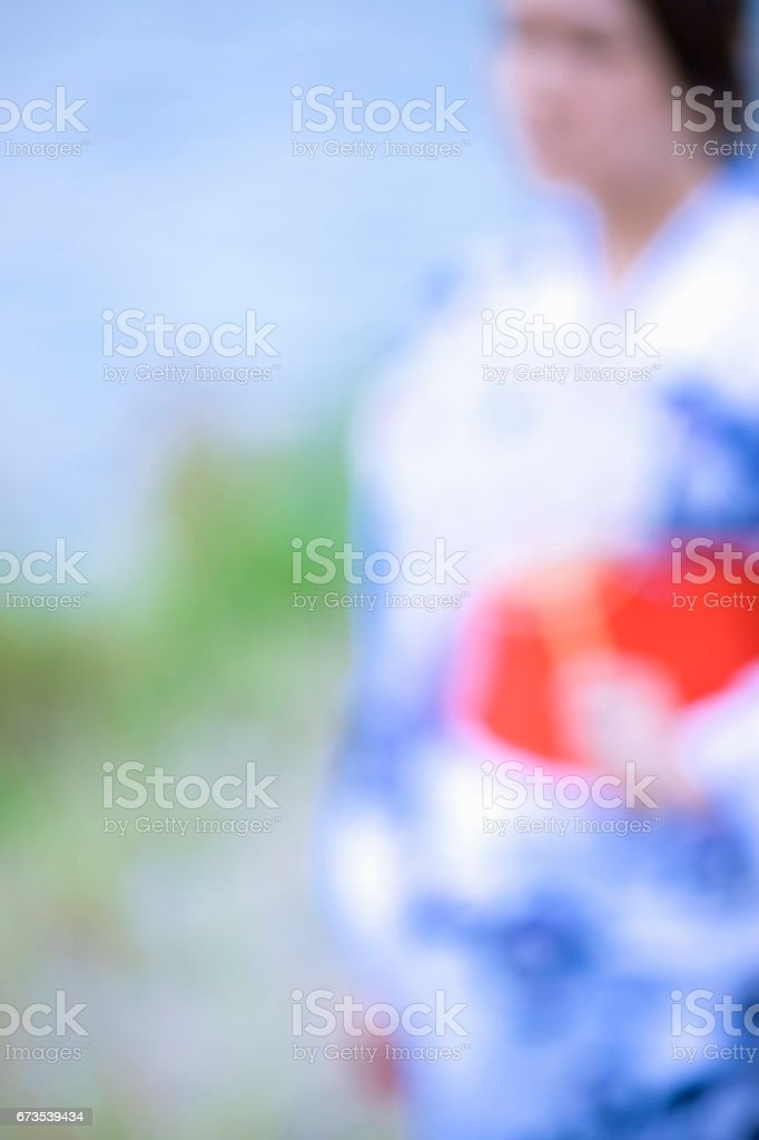 Yukata stock photo