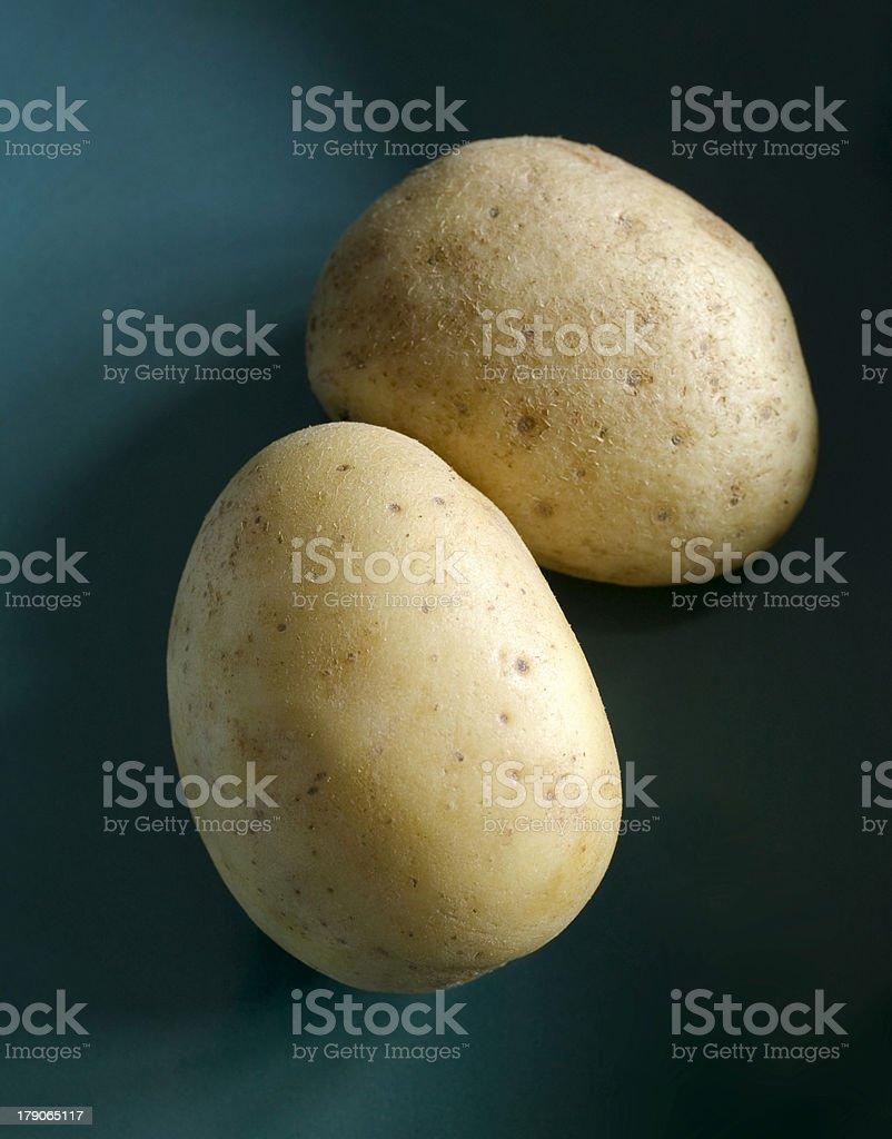 Yukon Gold Potatoes stock photo