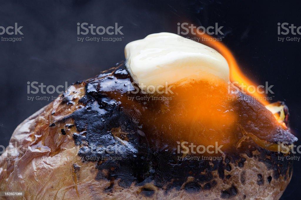 Yukon Potato stock photo