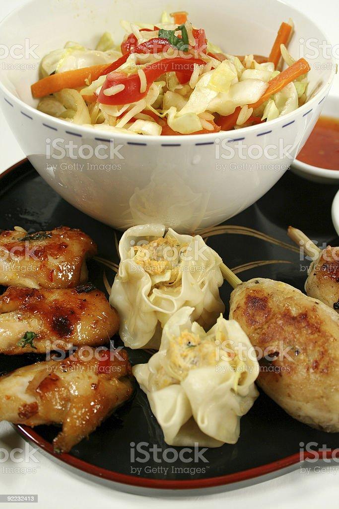 Yum Cha Platter 2 royalty-free stock photo