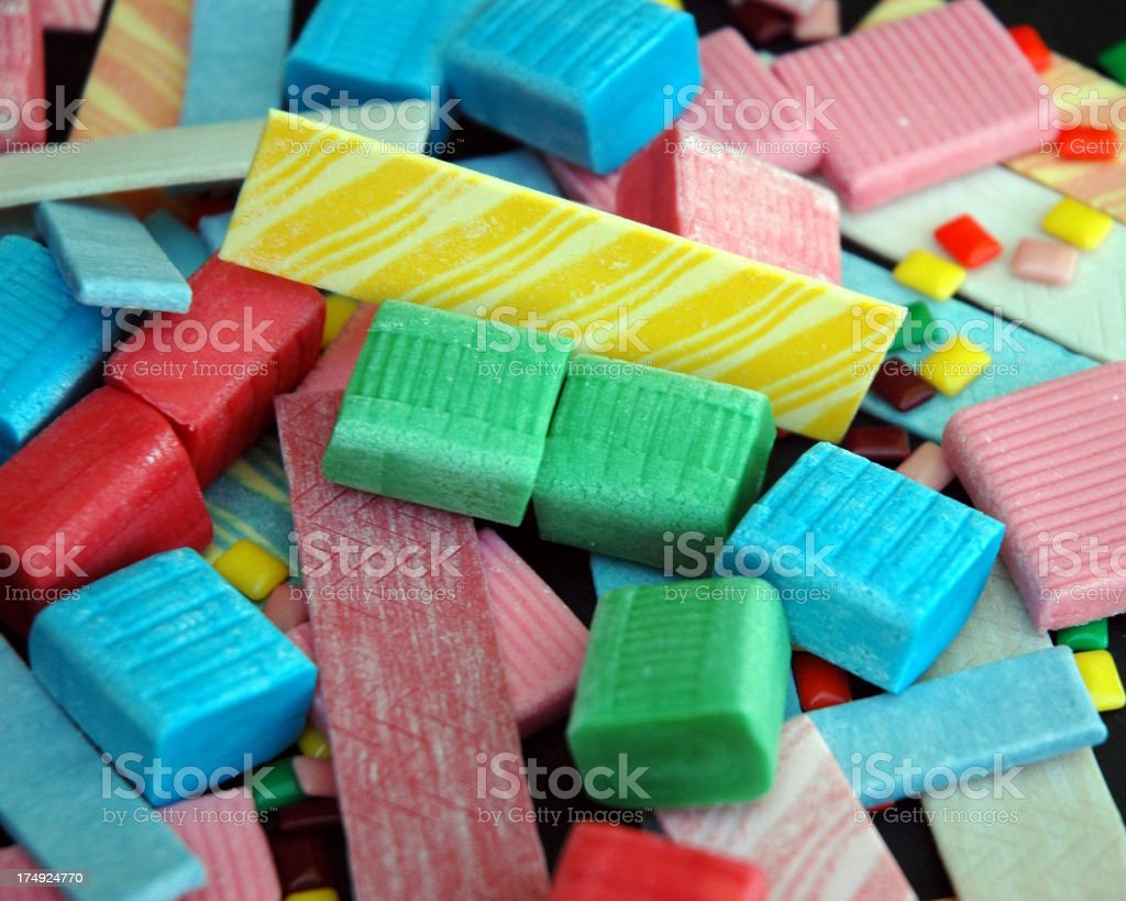 Yum For Gum royalty-free stock photo
