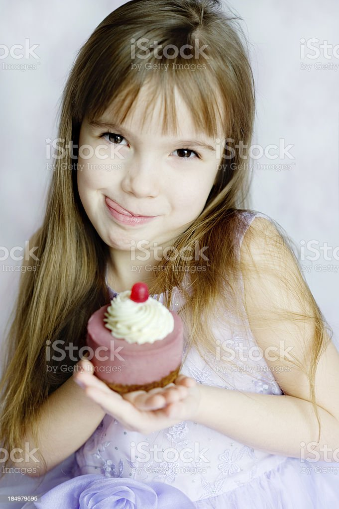 Yummy Cupcake stock photo