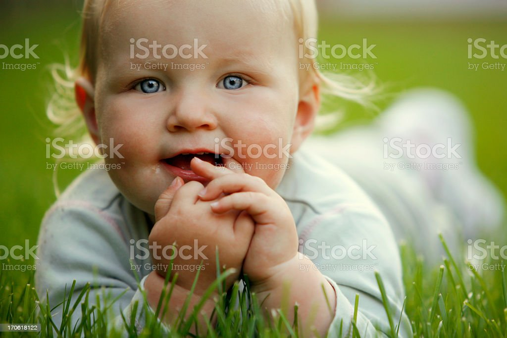 Yummy fingers royalty-free stock photo