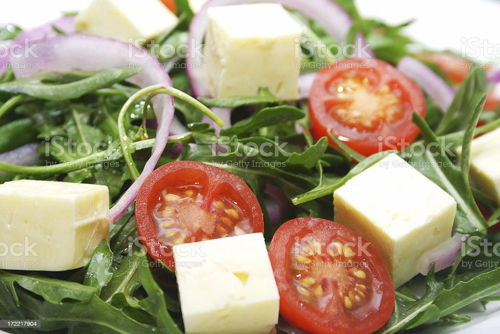 yummy fresh salad stock photo