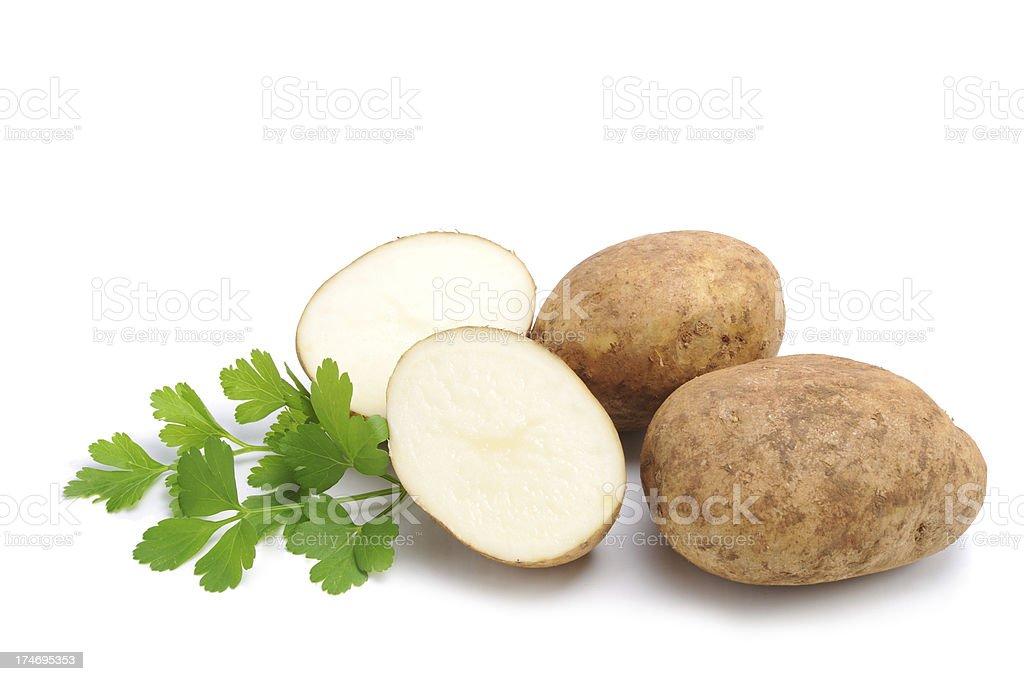 Yummy Potatoes royalty-free stock photo