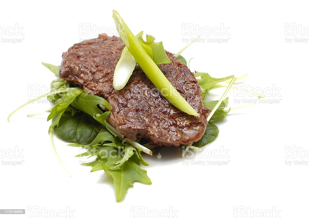 Yummy Steak royalty-free stock photo