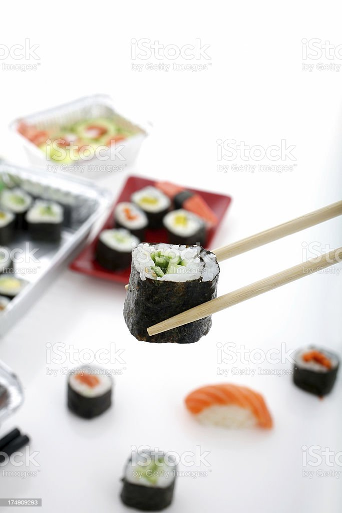 Yummy Sushi/Maki royalty-free stock photo