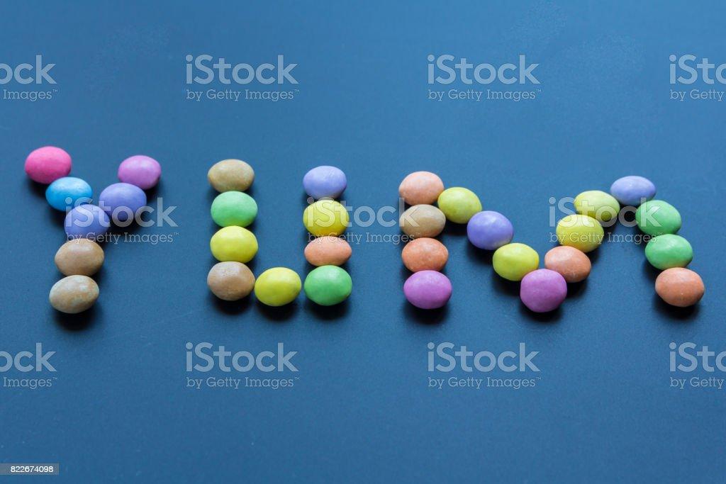yummy, sweet, sugary confectionery stock photo