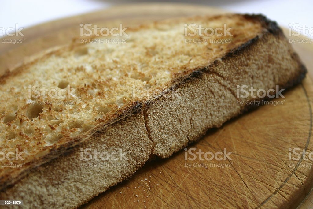Yummy Toast royalty-free stock photo