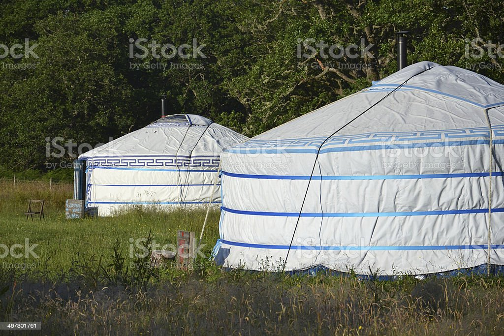 Yurt – Mongolian Ger royalty-free stock photo