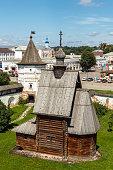 Yuryev-Polsky. Wooden church of St. George