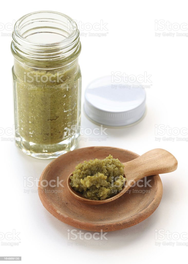 yuzukosho, japanese condiment royalty-free stock photo