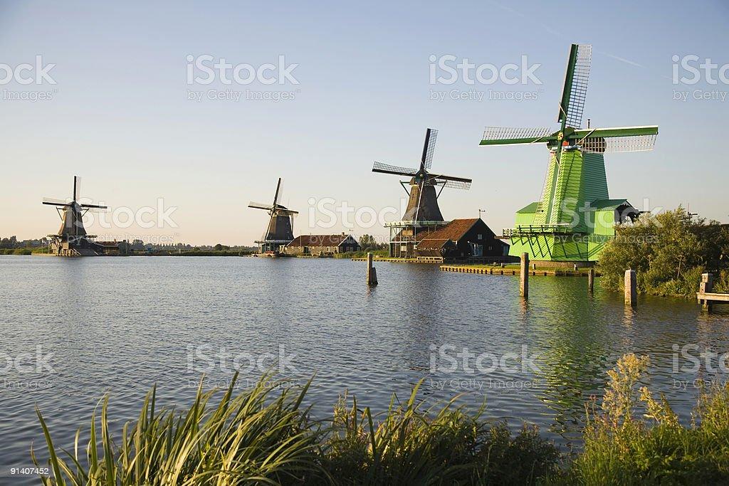 Zaanse Schans 1 royalty-free stock photo
