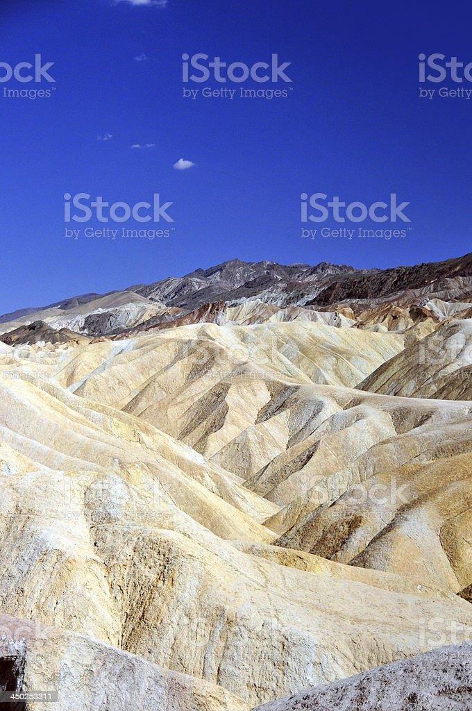 Zabriskie Point, Death Valley National Park, California royalty-free stock photo
