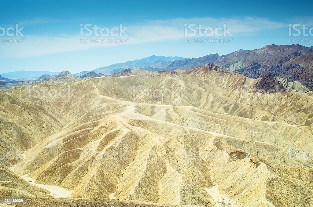 Zabriskie Point foto royalty-free