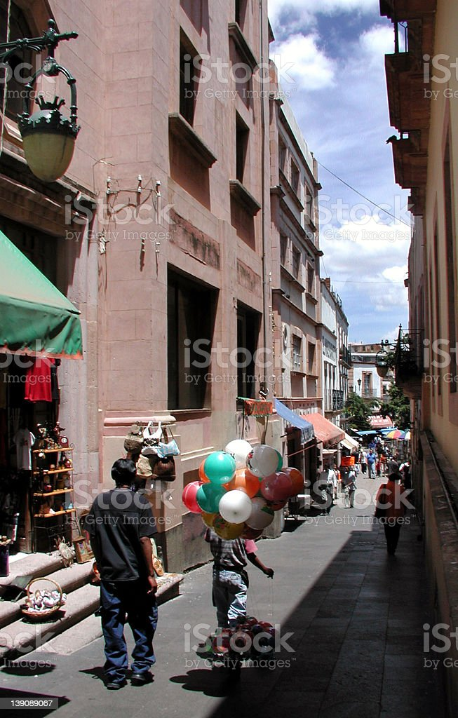 Zacatecas Fiesta stock photo