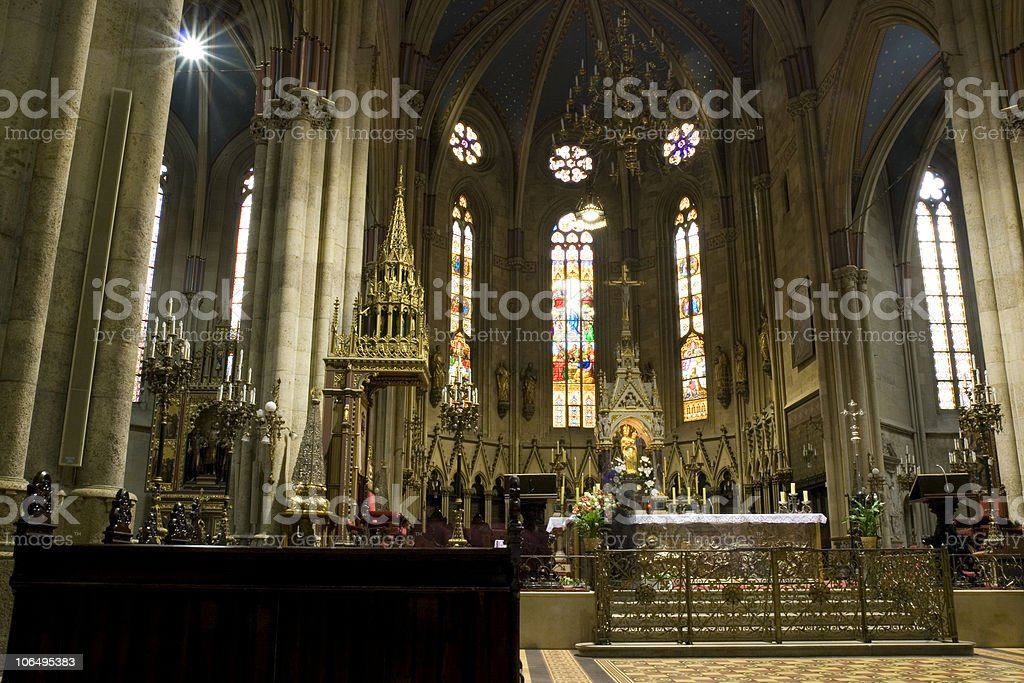 Zagreb Cathedral royalty-free stock photo
