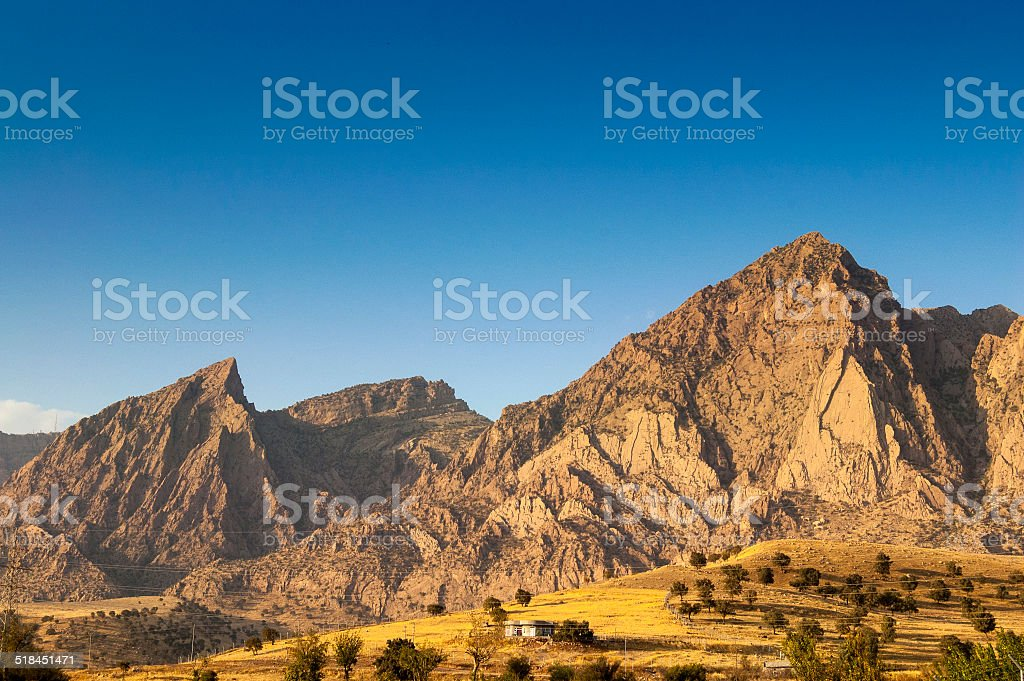 Zagros Mountains stock photo