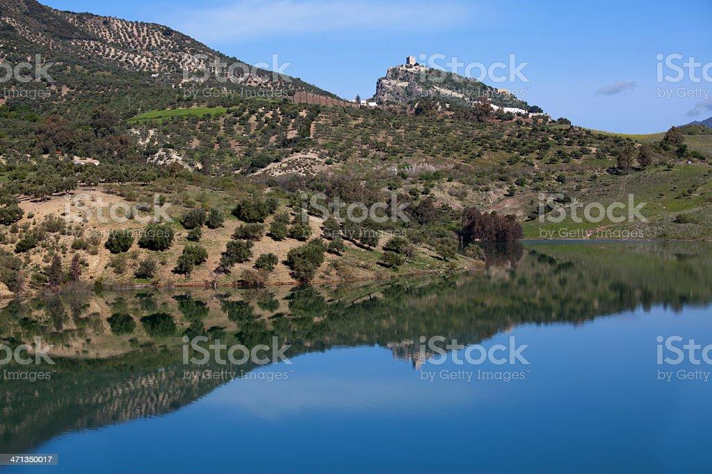 Zahara de la Sierra stock photo