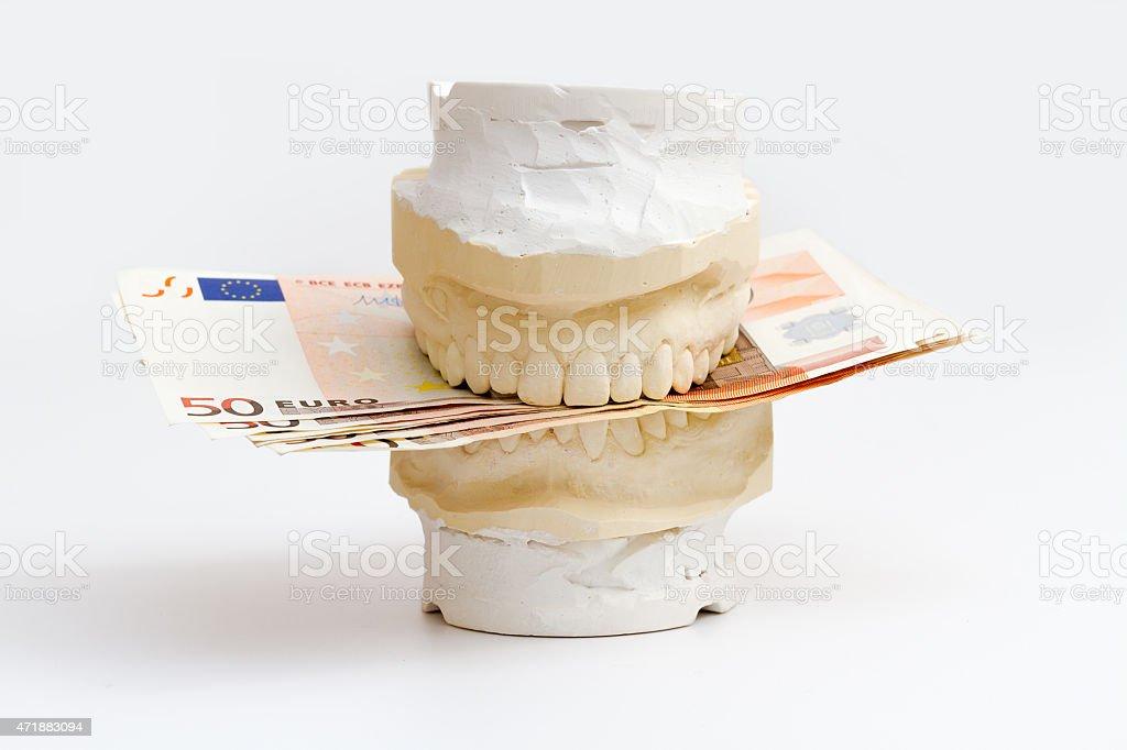 Zahnersatz stock photo