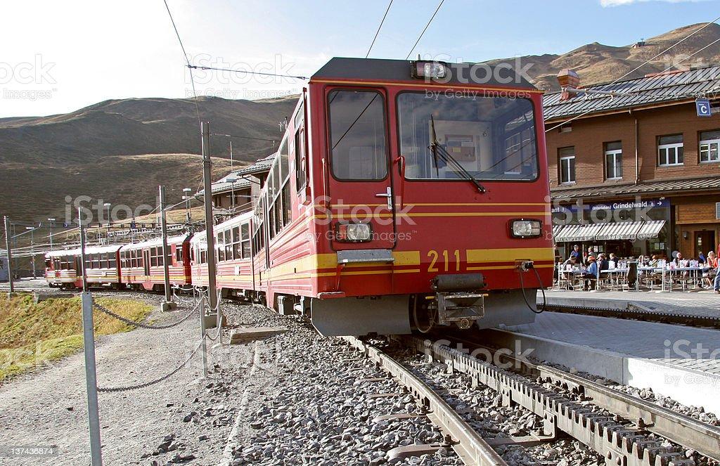 Zahnradbahn royalty-free stock photo