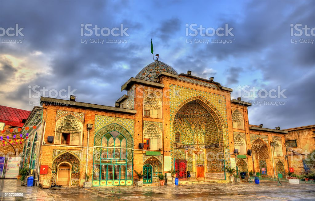 Zaid Mosque in Tehran Grand Bazaar - Iran stock photo