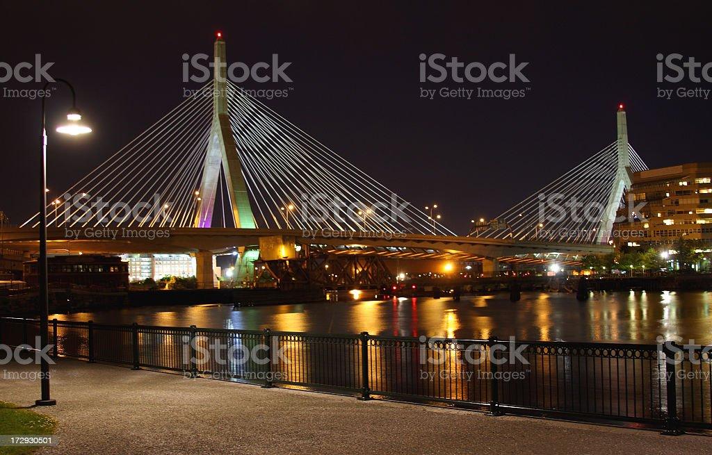Zakim Bridge royalty-free stock photo