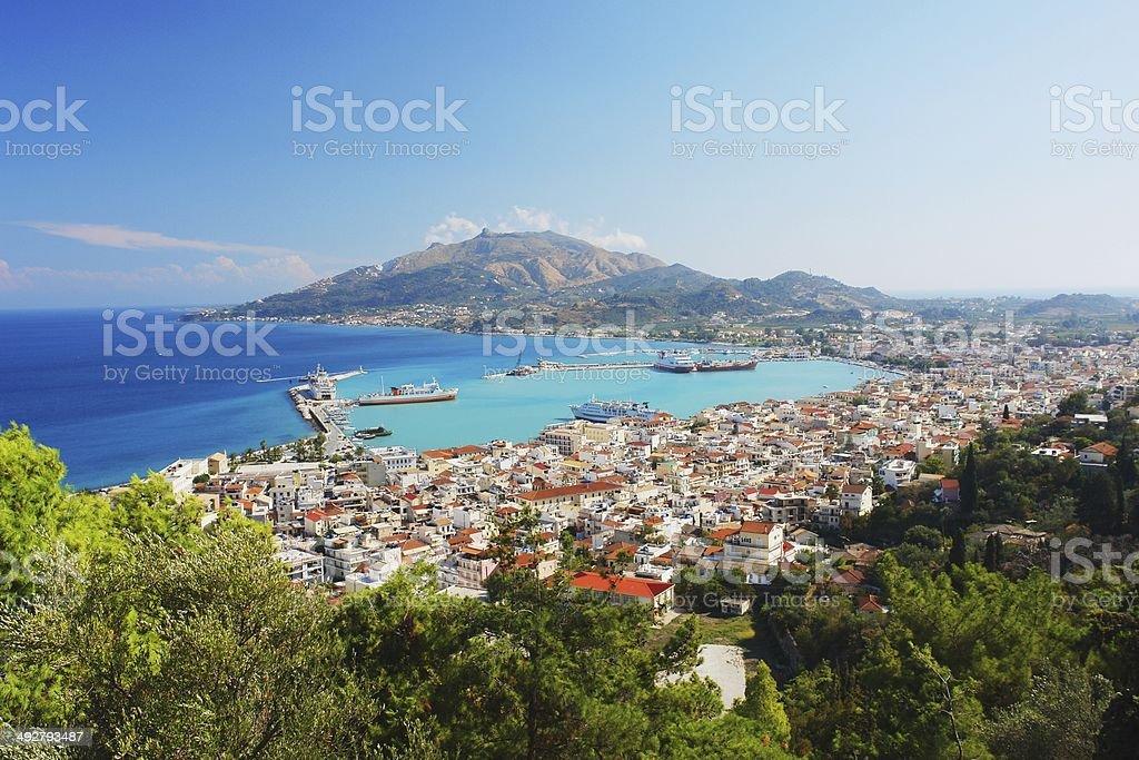 Zakynthos, Greece stock photo