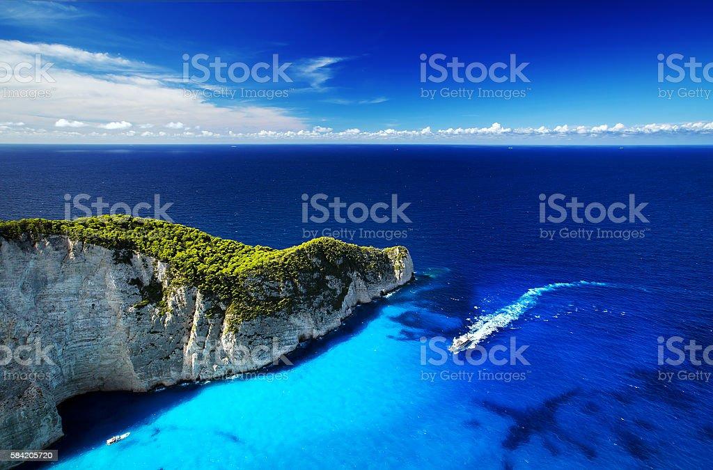 Zakynthos Island, Greece stock photo