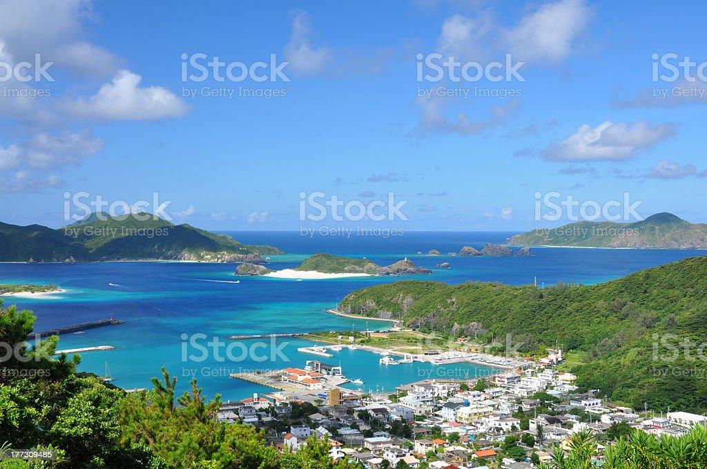 Zamami Island stock photo