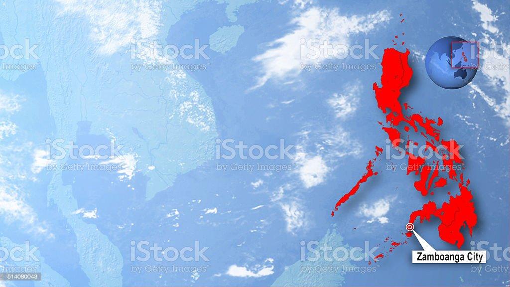 Zamboanga City stock photo