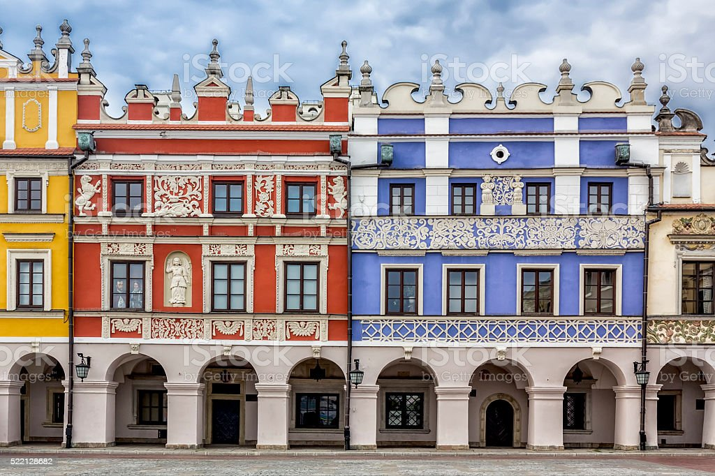 Zamosc - The Renaissance town, Poland stock photo