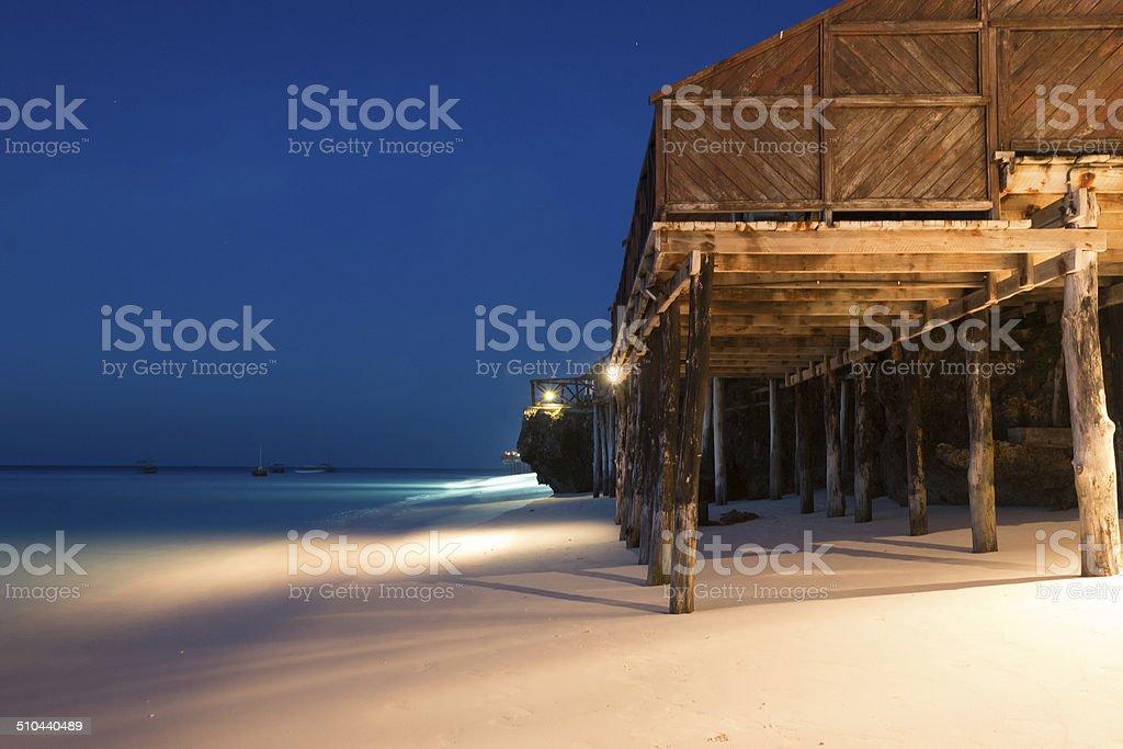 Zanzibar beach royalty-free stock photo