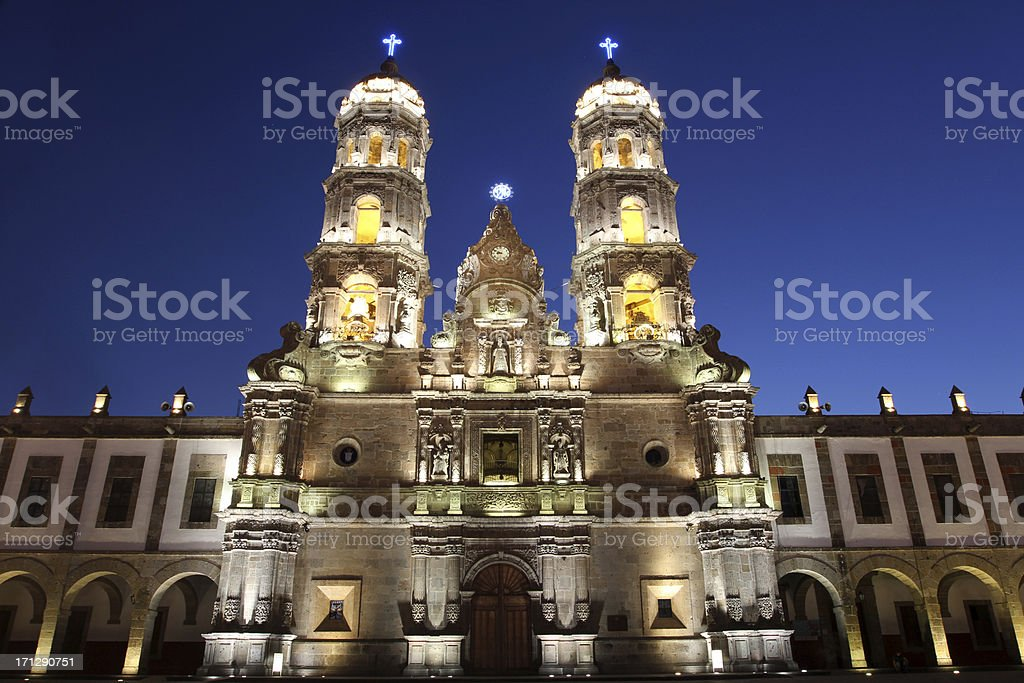 Zapopan down town stock photo