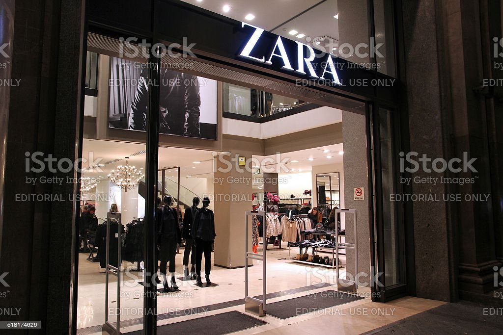 Zara stock photo
