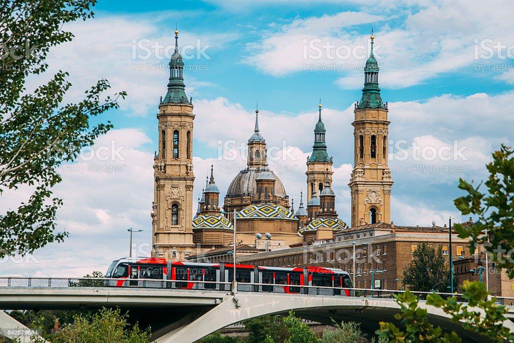 Zaragoza, Spain stock photo