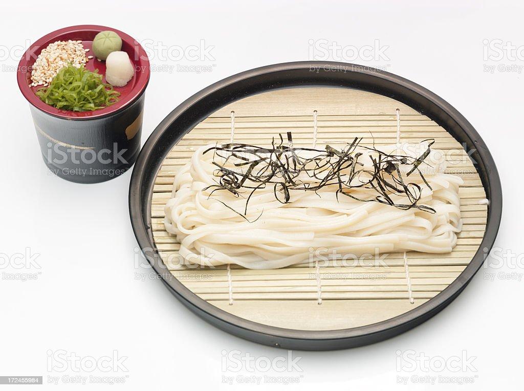 Zaru udon royalty-free stock photo