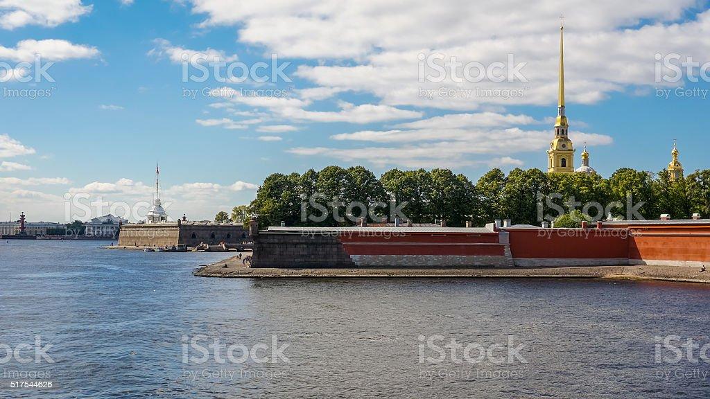 Zayachy Ilha de São Petersburgo foto de stock royalty-free