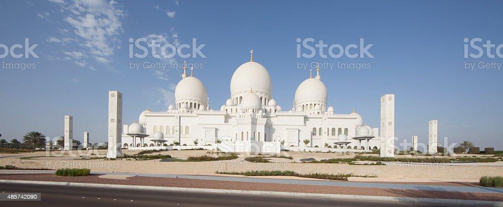 Zayed mosque, United Arab Emirates stock photo