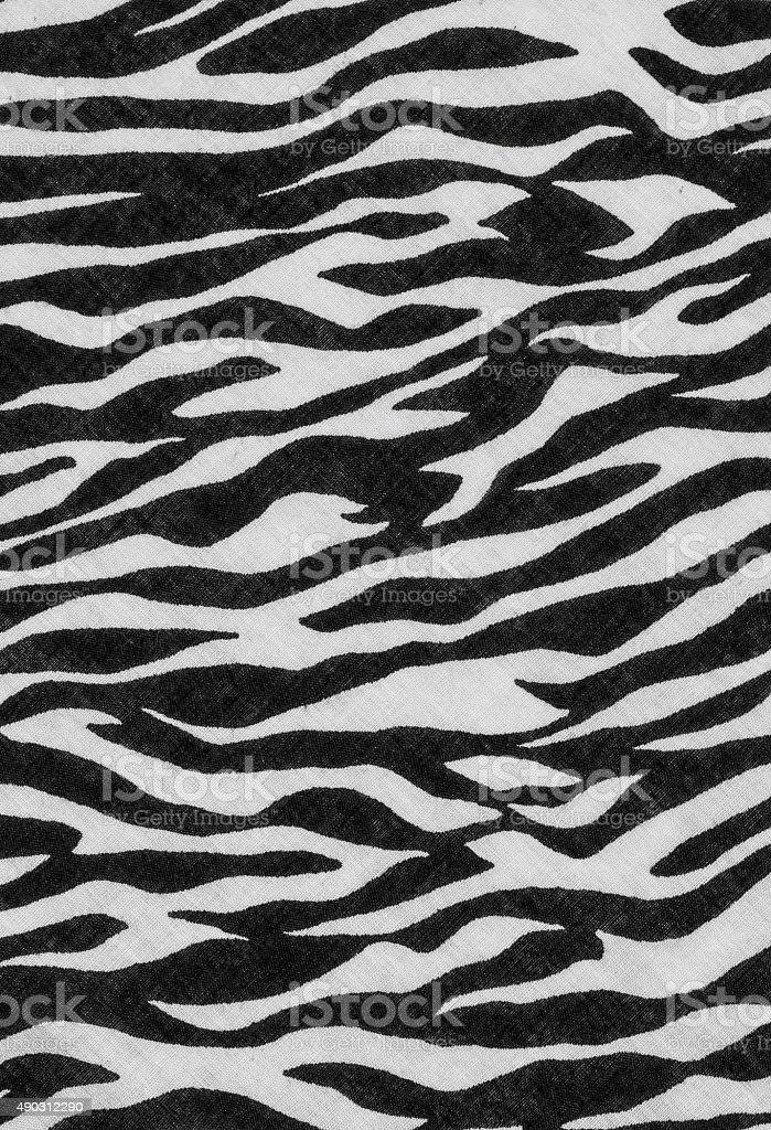 Zeabra pattern stock photo