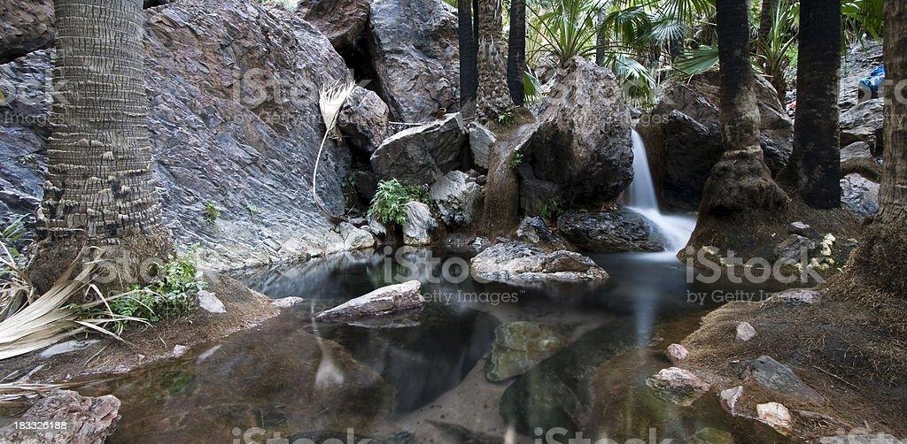 Zebedee Springs stock photo
