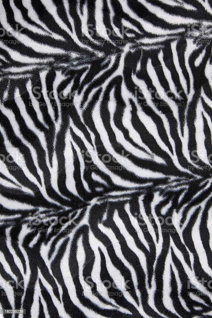 Zebra Animal Print royalty-free stock photo