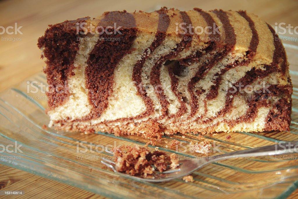 zebra cake stock photo