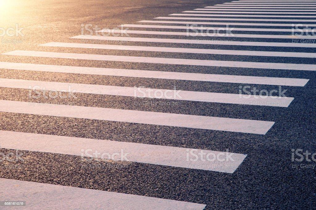 Zebra Crossing background textured stock photo