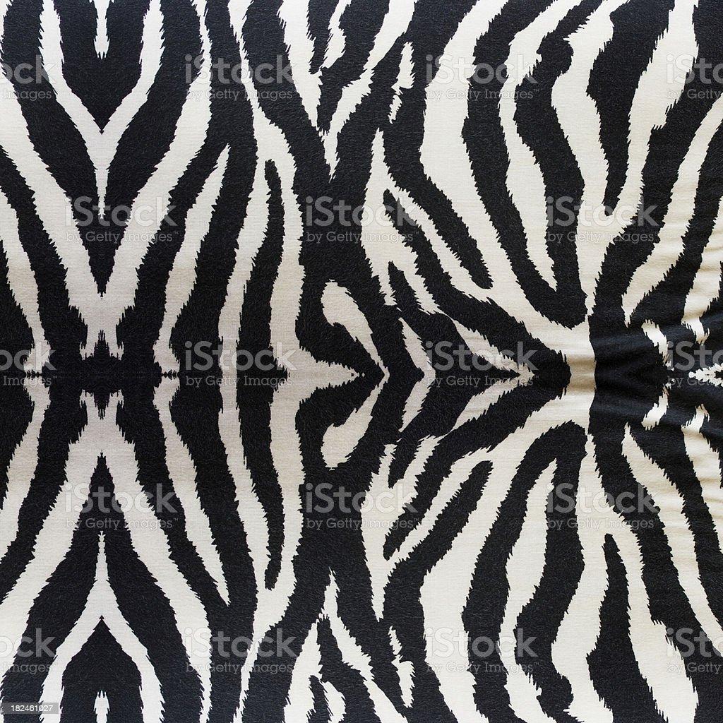 Zebra Fabrics Textile royalty-free stock photo