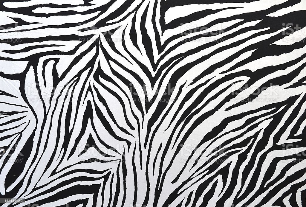 zebra style fabric royalty-free stock photo